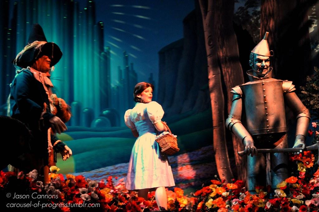 Wizard Of Oz Diorama The Great Movie Ride Hollywood Stu