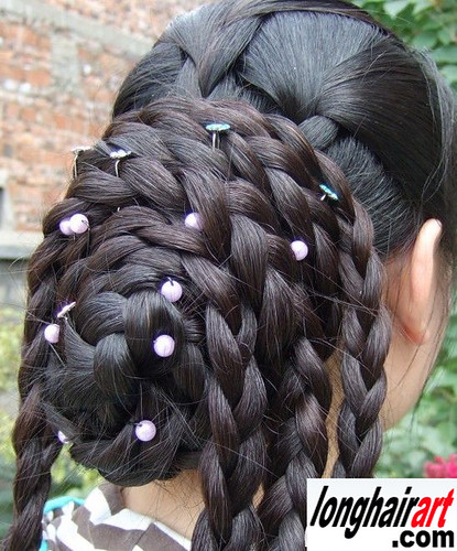 Very Long Hair Braid Long Braid Wwwlonghairartcom