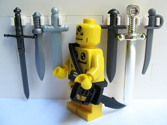 Guide To LEGO Scabbard Compatible Swords Im Very Happy