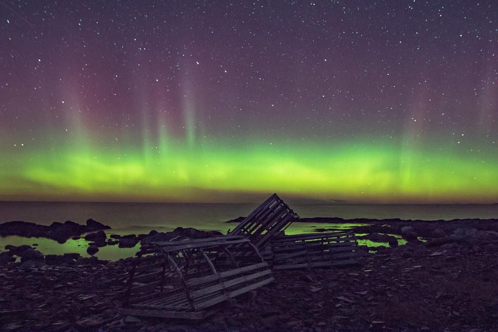 Northern Lights In Gros Morne National Park Brendan