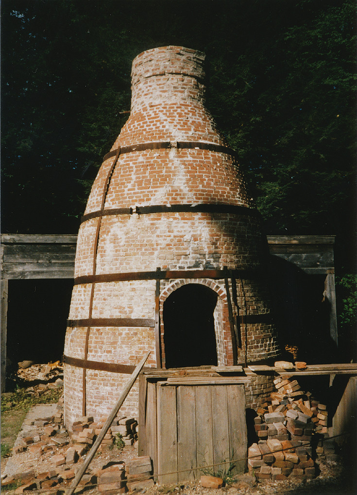 St06 Old Sturbridge Village Pottery Kiln Old