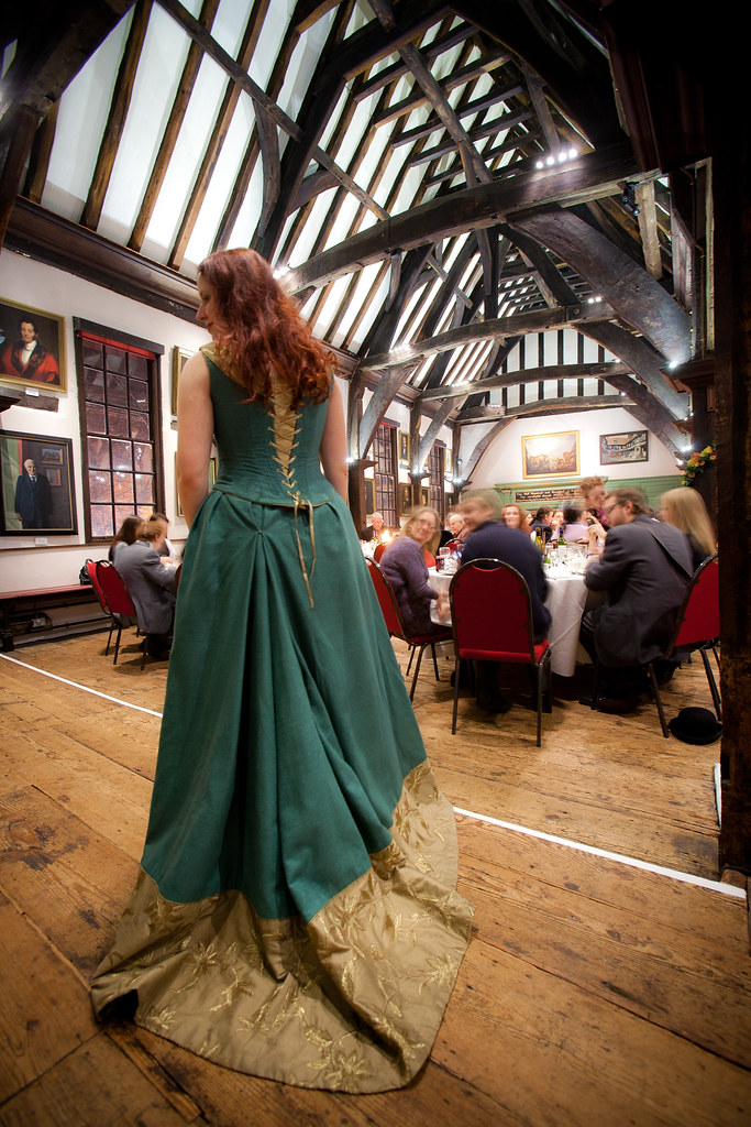 The hall and dress