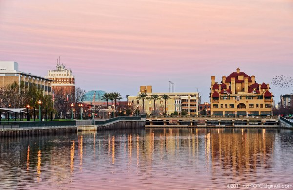 Downtown Stockton #1 | This image was shot during sunset ...