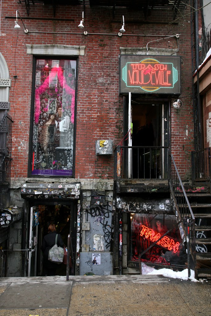 New York City Manhattan East Village St Marks Pl 4 T
