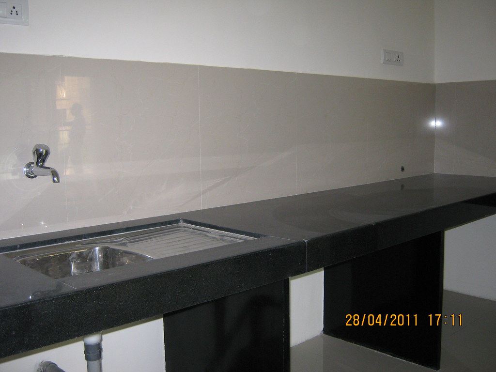 Sink And Kitchen Platform In Sangria Towers At Megapolis H