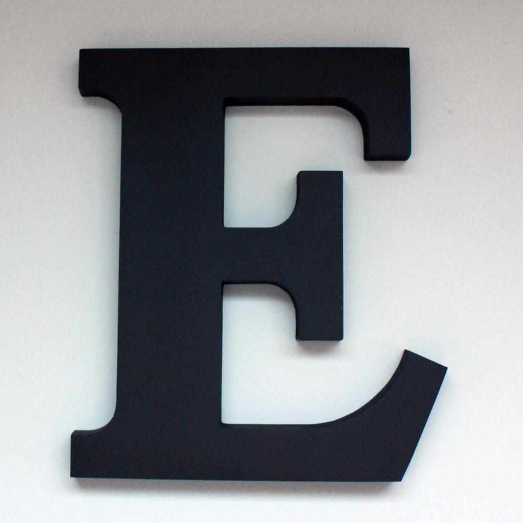 Letter E Large 2