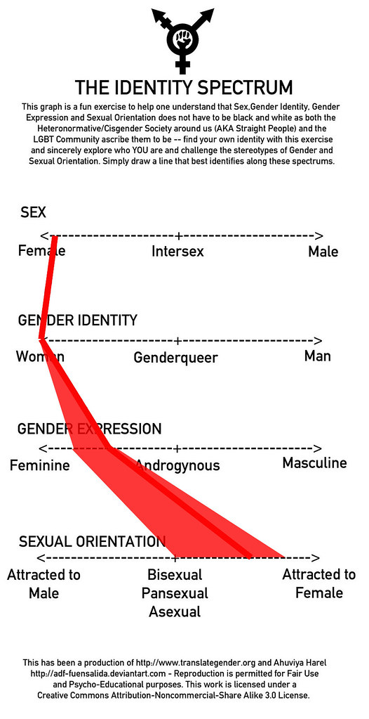 My Gender & Sexuality identity spectrum chart   I've ...