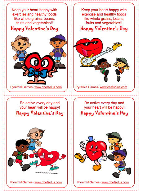 Free Valentines For Kids Mini Cards To Print Free