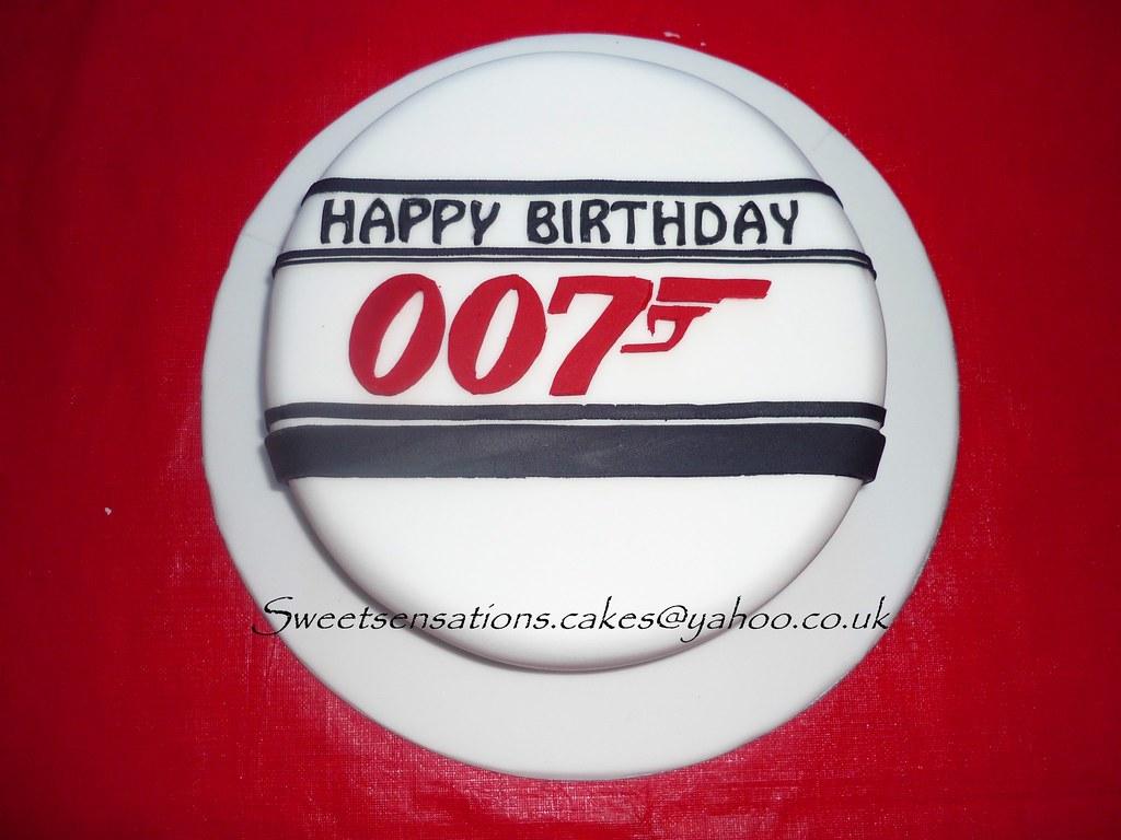 Joshua S 007 Birthday Cake Sweet Sensations Cakes Flickr