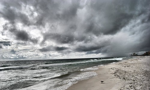 Storm coming in Panama City Beach, FL