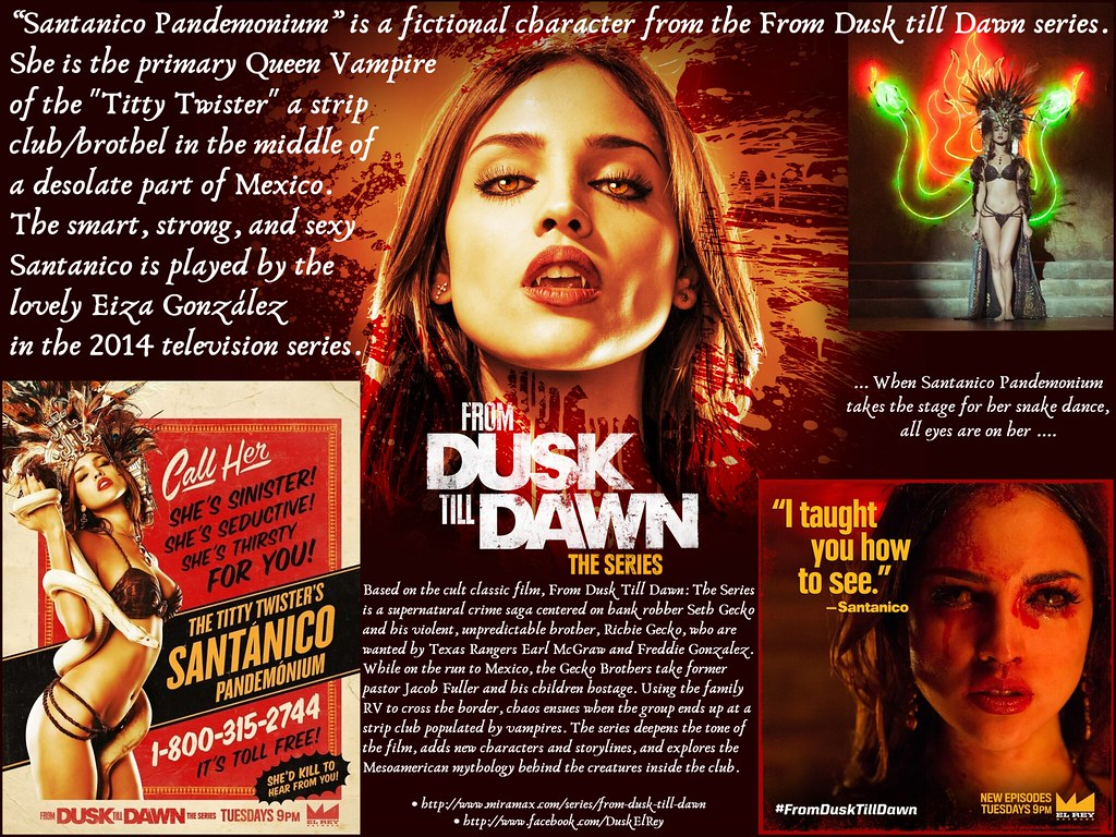 From Dusk Till Dawn The Series 2014 Amp Santnico Pandemo