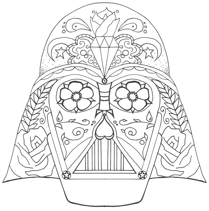 Darth Skull Line This Is A Tattoo Design I Did Messing