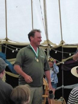 Mark Allery English scythe racer