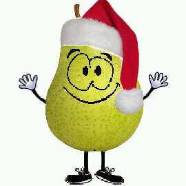 Dave The Christmas Pear Ho Ho HUMBUG I Am A