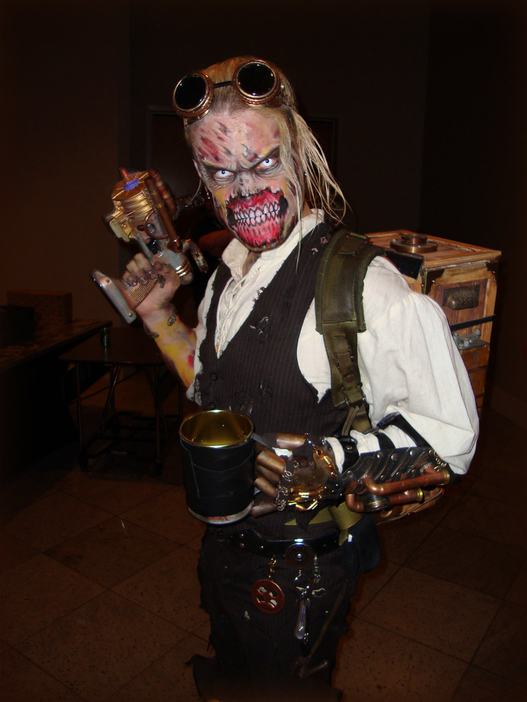 Zombie Steampunk Nice Mash Up Of The Two Genres I Think