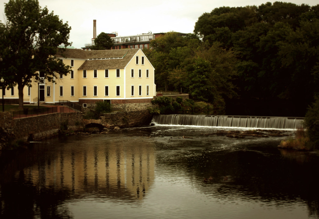 The Old Slater Mill The Birthplace Of The Cotton