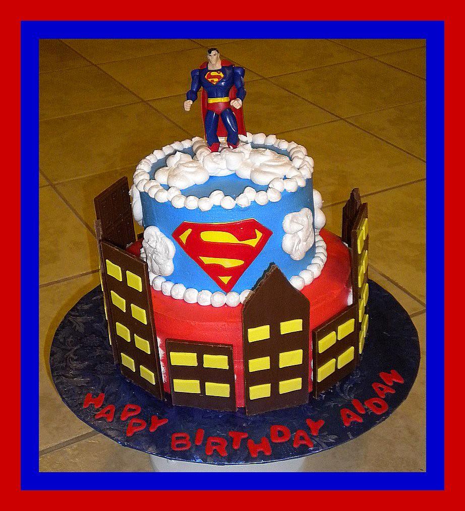 Superman Birthday Cake Tinkabellz17 Flickr