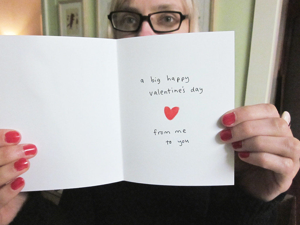 Panda Valentines Day Card Inside Blogged Ranchococoa