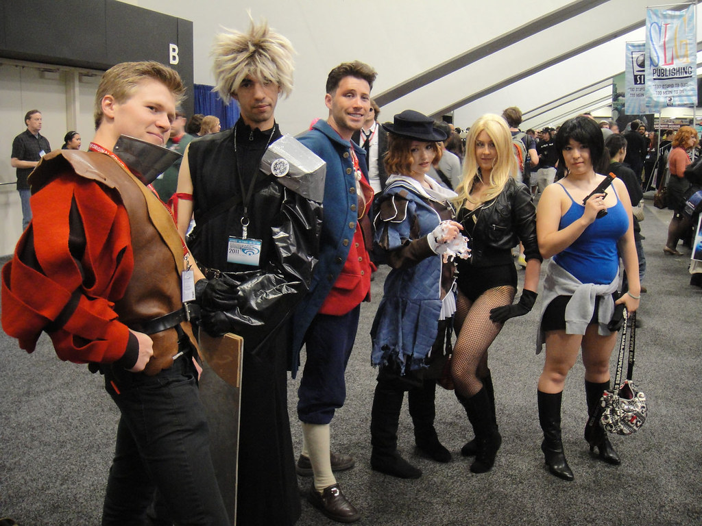 WonderCon 2011 Final Fantasy Costumes At Least I Think Flickr