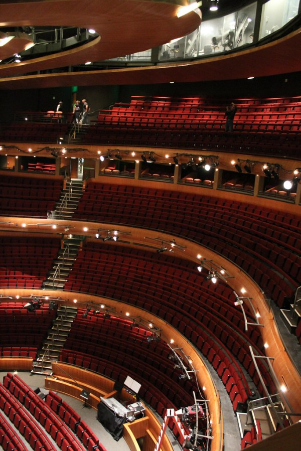 Inside the Ellie Caulkins Opera House | All the seats are ...