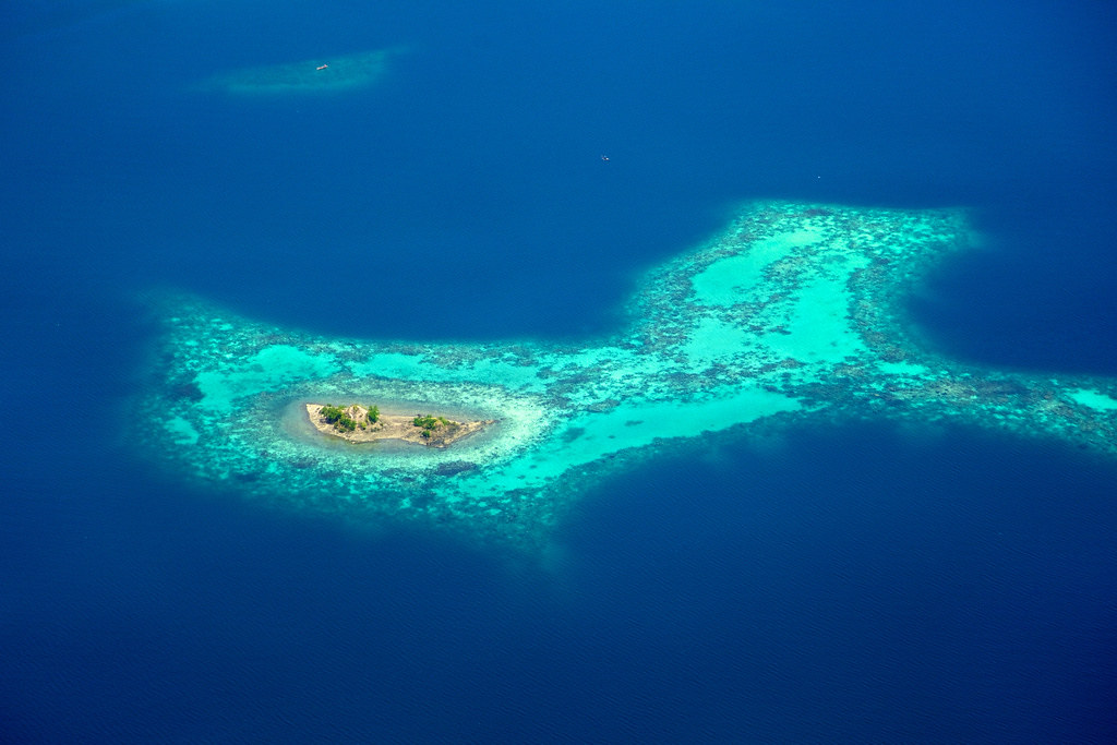 Deserted Island Paradise Papua Indonesia This Tiny