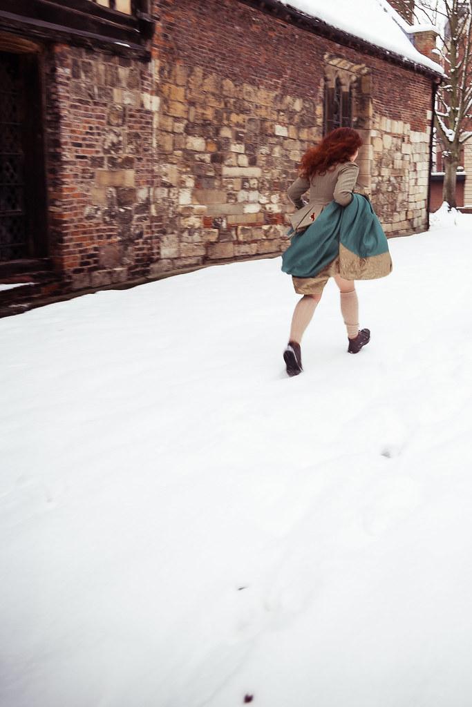 Still running through snow