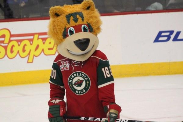 "The Minnesota Wild Not-So-Wild mascot ""Nordy""   He looks ..."
