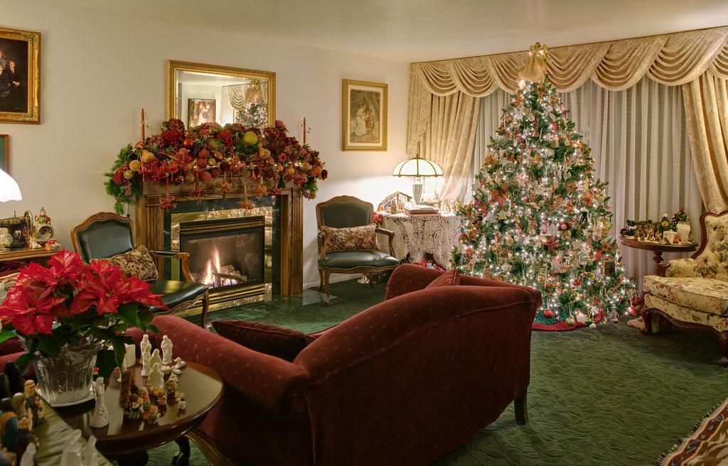 Home Interior Christmas Decorations Merry Christmas
