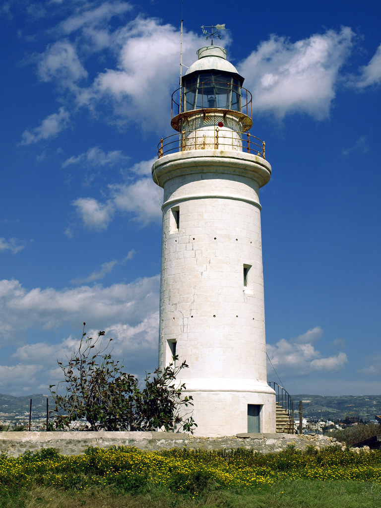 Paphos Lighthouse In Cyprus Marko Forsten Flickr