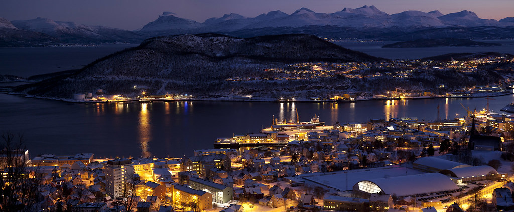 Harstad Norway Taken With Canon Ts E 90 In Desember