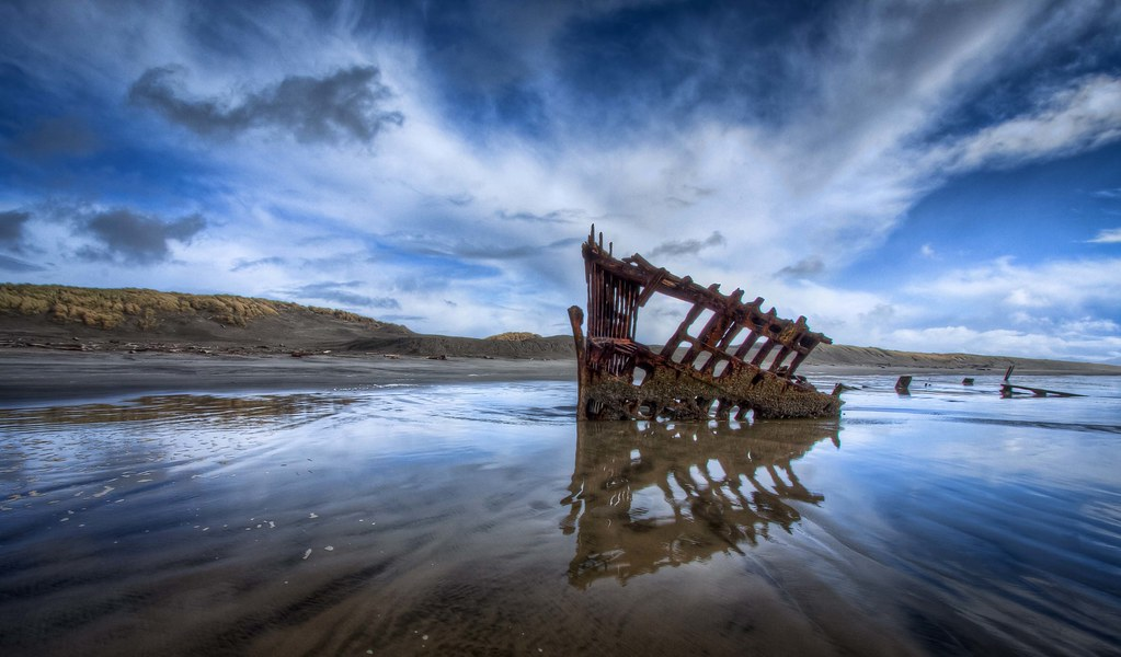Peter Iredale Shipwreck HDR This From My Oregon Coast