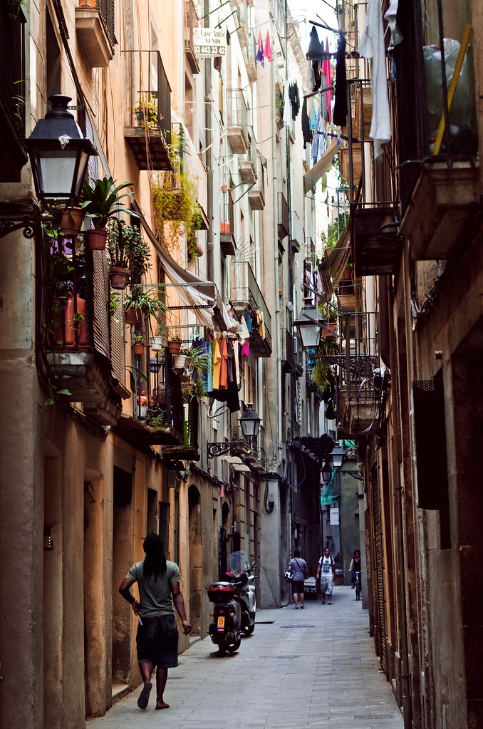 But actually, visiting a barcelona cathedral can be fun: Old City of Barcelona (Spain)   I love this part of the