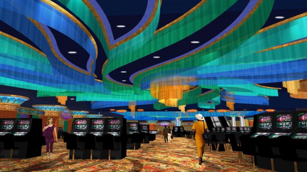 Casino Interior Design 3D Design Rendering Conceptual