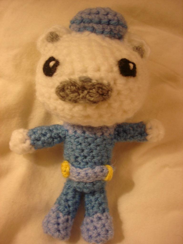 Crochet Octonauts Captain Barnacles Spreading The Love