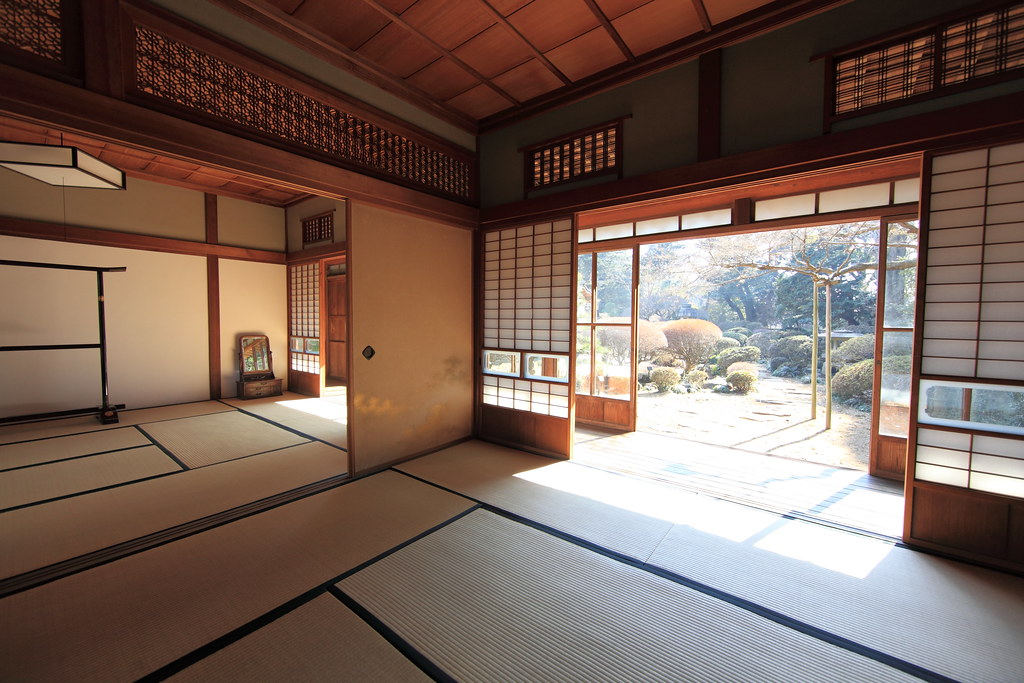 Japanese Traditional Style House Interior Design / 和風建築(わふ
