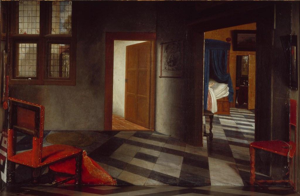Samuel Van Hoogstraten A Peepshow With Views Of The Inte