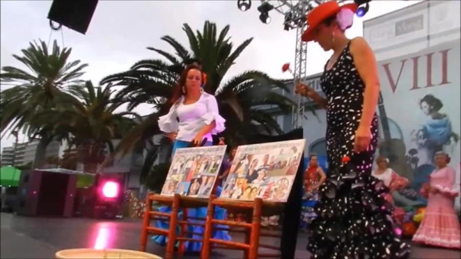 Homenaje a Mary La Rumbera y Manolo Vñazquez VIII Feria de Abril Las Palmas de Gran Canaria1