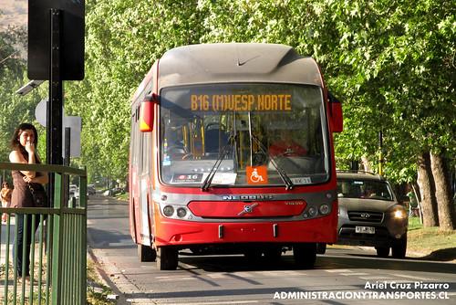 Transantiago - Redbus Urbano - Neobus Mega BRT / Volvo (CJRK39)