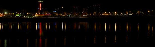 фото ночной Казани