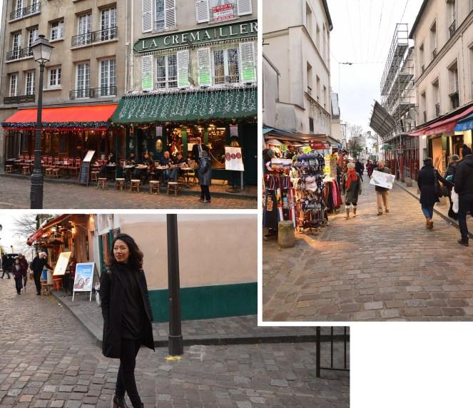 Place du Tertre, Montmartre, Paris, photography, architecture, paris street, cafe