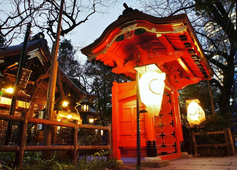 Entrance of the Atago Shrine
