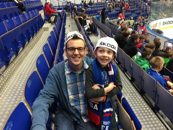 USA Hockey in Czech! (5/7/15)