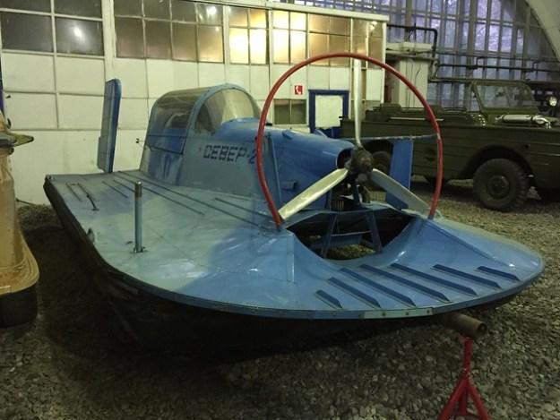 Судно на воздушной подушке СЕВЕР-2, 1990