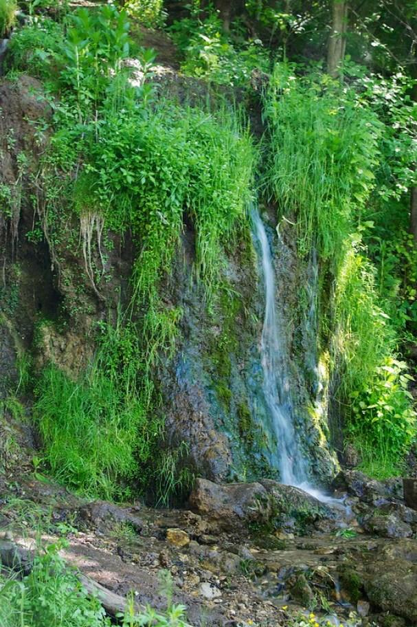 водопад Радужный, Калужская область, Россия