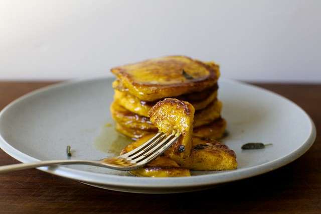 winter squash pancakes