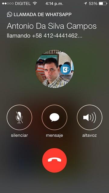 Llamadas en WhatsApp