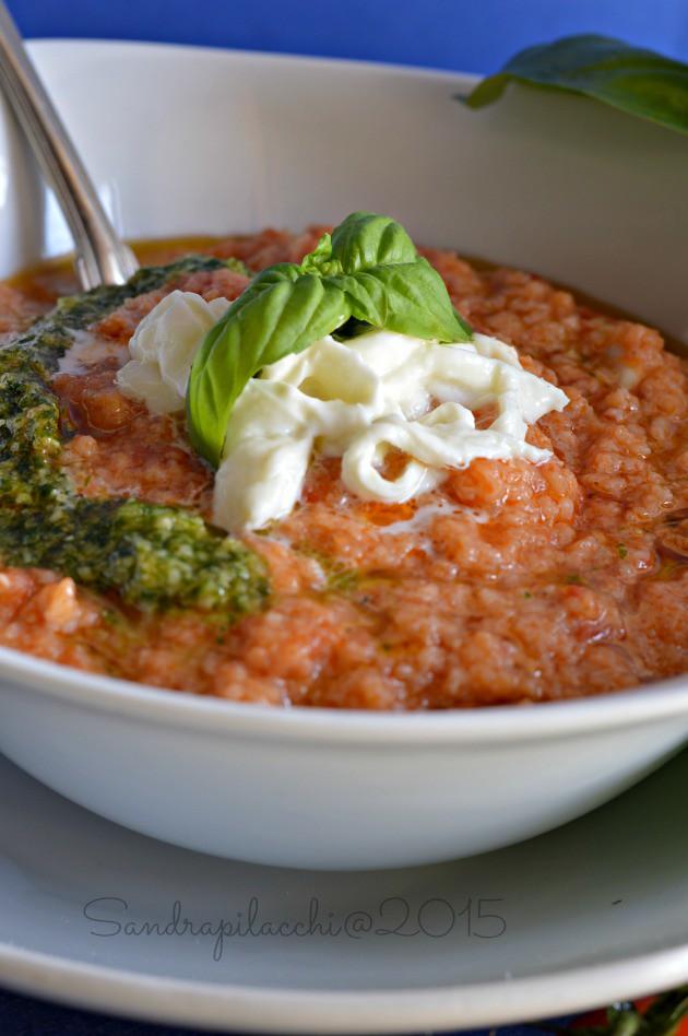 Moulinex Cuisine Companion e  la pappa al pomodoro
