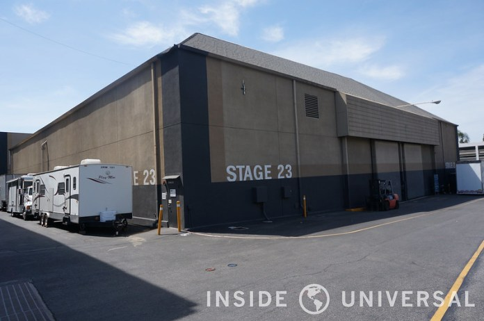 Soundstage 22, 23, 24 and 25 Set to Close