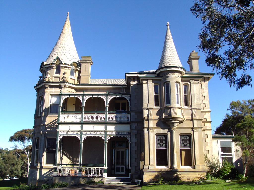 Adare House At Victor Harbor Built As A Summer Home For Da