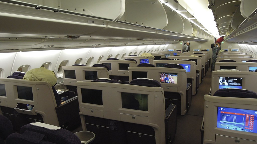 Malaysia Airlines Airbus A380 Business Class Upper Deck H
